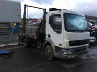 2002 daf Lf skip truck