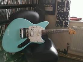 Fender Jagstang - Sonic Blue VGC UPGRADED