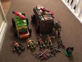 Turtles Toy Bundle