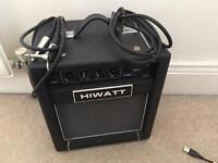 Hiwatt Bass Guitar Practise Amp