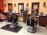 Salon furniture and barber chair