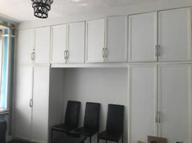 Pre owned fitted wardrobe
