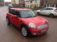Mini Cooper 1.6i 3dr Hatchback LONG MOT