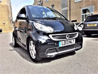 (Auto 27800 Miles) - 2013 Smart ForTwo 1.0 Automatic -MHD Passion SoftTouch Full LEATHER - Smart Car