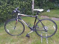 Flat Bar 21 Speed Alloy Road Bike - 19 Inch Frame