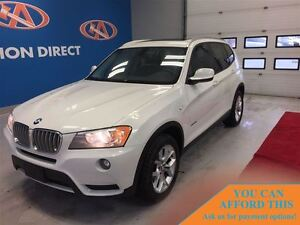 2013 BMW X3 xDrive28i AWD! HUGE SUNROOF! FINANCE NOW!