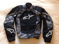 Alpinestars Sniper motorbike jacket urban camo