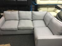 New/Ex Display Grey Dfs Sydeny Corner Sofa