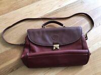 Italian Leather Satchel / Briefcase