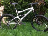 GT Force 3 full suspension mountain bike