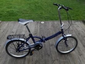 Apollo Folding Bike - Very Good Condition - Hardly Used
