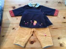 Catimini jacket and trouser suit: 12-18 months