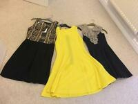 3 dresses size 10