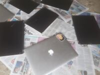 Apple laptop lids with screens. Untested