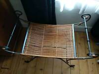 Lovely rattan bench/ chair
