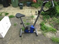 exercise bike -with monitor
