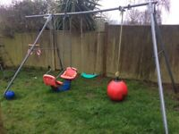 TP Garden Swing Set - Very Sturdy Frame!