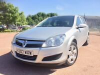 2007 Vauxhall Astra 1.4 Club mot until May 19 with full service history