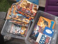 Star Wars magazines and book, job lot