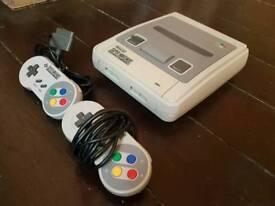 Super Nintendo entertainment system bundle