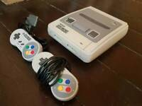 Super Nintendo entertainment system bundle