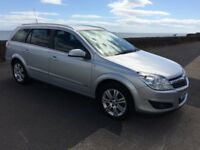 07 vauxhall astra design-1796 cc.5 door estate.12 months mot/warranty