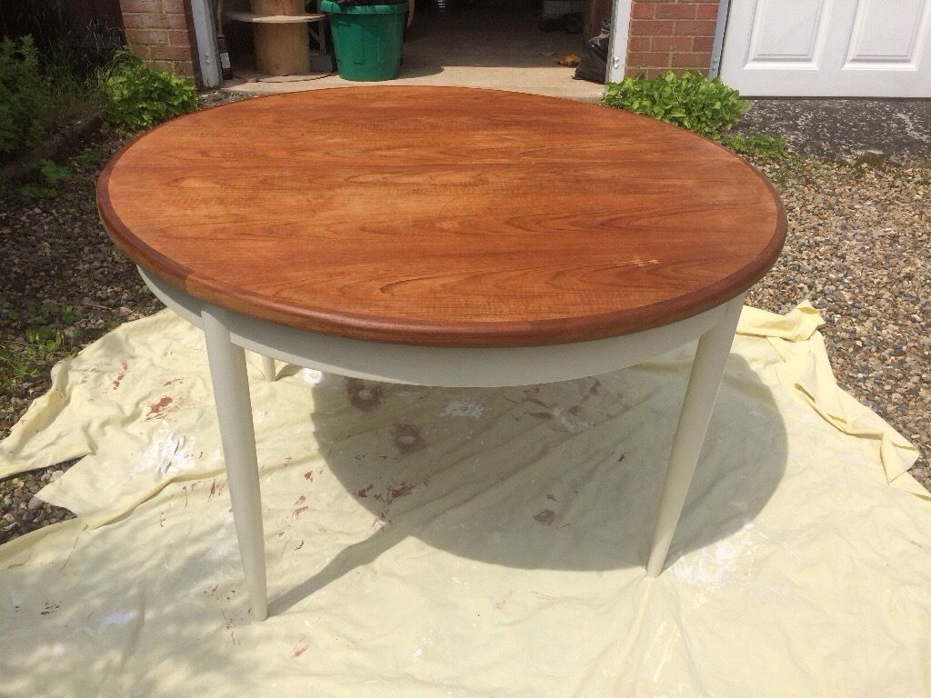 Upcycled g plan extending kitchen table dining table in for Coffee tables norwich