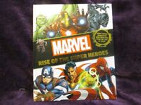 Marvel Rise of The Super Heroes Book