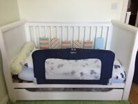 Mothercare Chiltern Sleigh Cot Bed- White