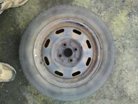 Steel wheels with tyres 175/65R