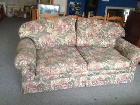 Liberty floral sofa