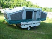 Skamper Sport Tent Trailer Model 17A