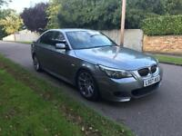 BMW 525D M SPORT AUTO FULLY LOADED 3.0 RE MAPED 5 DOOR 2007 110k FULL SERVICE HISTORY 07760 971405