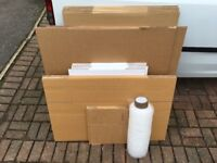 Cardboard boxes / moving pack