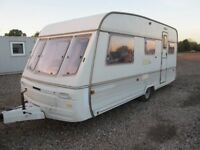 SWIFT CHALLENGER 490/5 SE FIVE BERTH TOURING CARAVAN, GREAT LAYOUT AND VERY LIGHTWEIGHT!