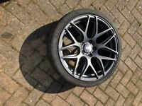 """19"""" Y spoke Bola alloy wheels with tyres x 4"""