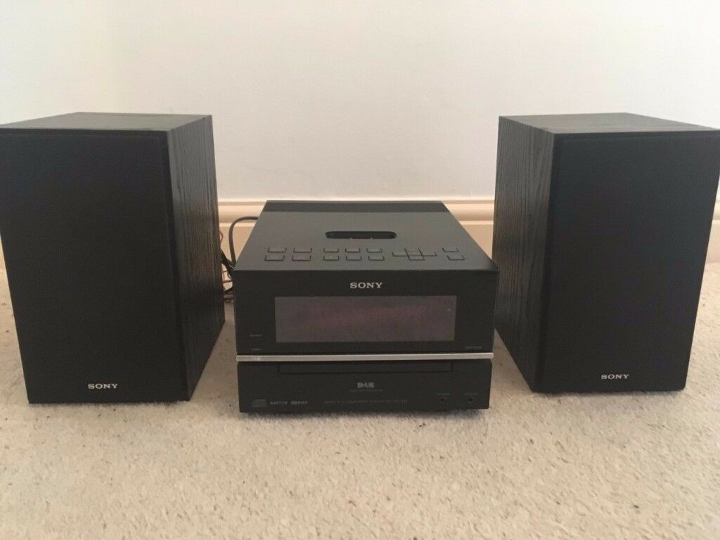 Sony CMT-BX77 CD / Ipod Audio System with speakers
