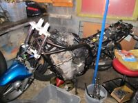 SUZUKI BANDIT 600 MK1 (BREAKING THE BIKE)