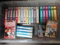 The Avengers TV Series VHS collection