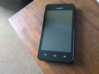 huawei smart phone, ee pay as you go stunning condition. with charger boxed as new