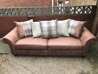 New DFS 4 Seater sofa and Accent chair