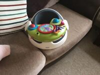 Mamas and papas baby snug seat with play tray