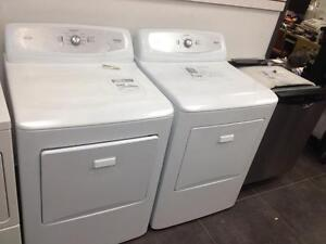 Haier RDE350AW White 6.2 cu. ft Electric Dryer Refurbished