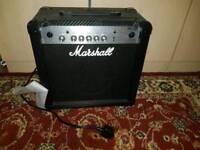 Marshall MG15CF guitar amp