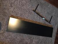 Ikea Black Shelf