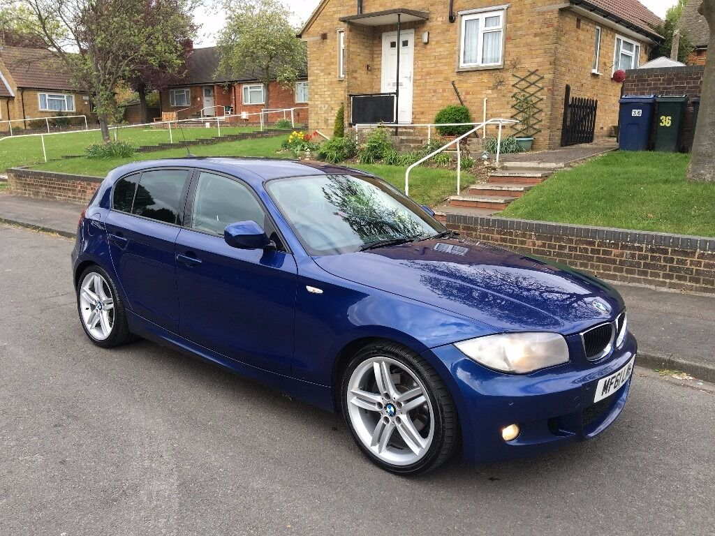 2011 61 Reg Bmw 118d M Sport Le Mans Blue Manual Leather Full History Needs New Clutch