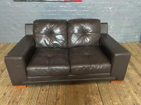 Designer 2 seat real Italian hand made sofa very