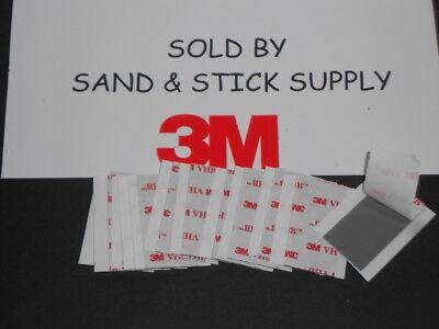 3m Rp45 Vhb Gray Double Stick Foam Mounting Sheets 1x2 12 Strips