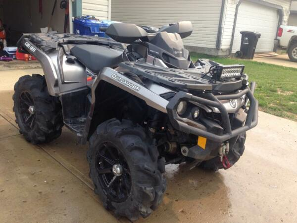Used 2012 Can-Am Outlander 1000XT