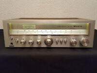 Vintage Sanyo JCX 2150 Stereo Receiver and a sony cdp 990
